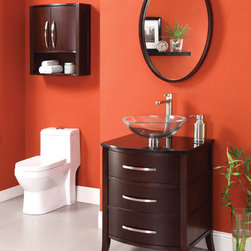 Small Bathroom Vanities - The most important factor that people will be taking into account here is the space available in the bathroom. For those who only have minimal space to work with, a small-sized bathroom vanity cabinet will be essential. There will be no room for a large vanity cabinet. Instead of cramming a bulky furniture inside that room and encroaching on the space that is allotted for other essential bathroom furniture, a small vanity set can come to the rescue. But, for household members who use the bathroom and the vanity set at the same time, a small one can spell chaos.