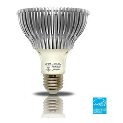Lightkiwi - Lightkiwi C7885 PAR38 Warm White Dimmable LED Spot Light Bulb - 85W Equiv. - The Lightkiwi™ PAR38 LED light bulb provides a warm white equivalent to 85 watt incandescent light bulb and lasts up to 30,000 hours while using at least 80% less energy.  This bulb is ideal for kitchens, living rooms, bedrooms, hallways, or any other places where you need standard PAR38 light bulb.  UL Approved , EnergyStar CertifiedApplicationsResidential / Shipping Mall / Healthcare / Hospitality / Restaurants30,000 Hours LifetimeNo need to replace the light bulb frequently and more cost savingsUses Only 15 Watts of ElectricityOver 80% savings in electricity usage compared with a 85 watt incandescent light bulb1100 lumens of brightnessProvides same amount of brightness as a 85 Watt incandescent bulbInstant On without FlickeringLights up instantly at full brightness without any flickeringDimmable BulbControl the brightness to a desired level using LED dimmer switch (not included)Mercury-Free designUses no Mercury unlike CFL light bulbsLimited 5-Year Warranty