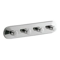 Gedy - Polished Chrome Hook(s) - Multiple hook(s) made of polished chrome cromall.
