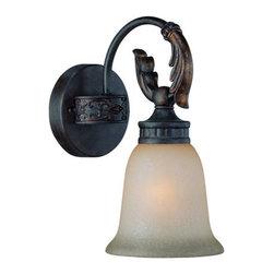 Jeremiah Lighting - Jeremiah Lighting 25901 Grandeur 1 Light Bathroom Wall Sconce - Jeremiah Lighting 1 Light Bathroom Vanity Light from the Grandeur CollectionFeatures: