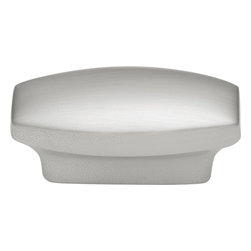 Hickory Hardware - Metropolis Satin Nickel Cabinet Knob - Often characterized with clean, sleek lines. Marked with solid colors, predominantly muted neutrals or bold bunches of color. An emphasis on basic shapes and forms.