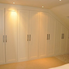 Contemporary Bathroom Storage by Klm Joinery