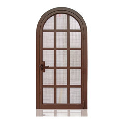 Iron Collection | 2976 | 32-34 - Iron, Hardware:  2.- Roller Catches,   Hinges: 3.- Heavy Duty Hinges,  Exterior Door