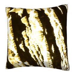 Custom Photo Factory - Abstract Pattern Surface Pillow.  Polyester Velour Throw Pillow - Abstract Pattern Surface Pillow. 18 Inches x 18  Inches.  Made in Los Angeles, CA, Set includes: One (1) pillow. Pattern: Full color dye sublimation art print. Cover closure: Concealed zipper. Cover materials: 100-percent polyester velour. Fill materials: Non-allergenic 100-percent polyester. Pillow shape: Square. Dimensions: 18.45 inches wide x 18.45 inches long. Care instructions: Machine washable