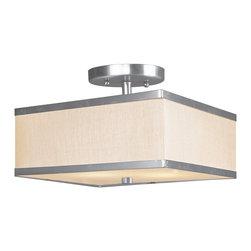 Livex Lighting - Livex Lighting 6347-91 Ceiling Light/Flush Mount Light - Livex Lighting 6347-91 Ceiling Light/Flush Mount Light
