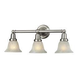 ELK Lighting - Three Light Satin Nickel Vanity - Three Light Satin Nickel Vanity