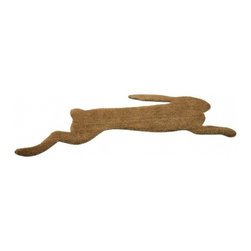 Droog - Hare Doormat - Hare brush: This rabbit coir doormat goes a long way toward brushing off dirt, dust and mud as you enter the house. In fact, this mat is designed to go the distance, giving you a long stretch on which to scuff and scrape as you hop along.