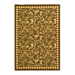 Safavieh Courtyard CY4025D Natural Brown Area Rug - Safavieh Courtyard CY4025D Natural Brown Area Rug