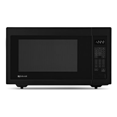 Jenn-Air Built In / Countertop Microwave, Black | JMC1116AB - Auto Sensor Microwave Cooking 2-Stage Memory Programming In-Wall Installation 1.6 Cu. Ft. Capacity 1,200 Watt Power Output 10 Power Levels Glass Turntable Auto Sensor Reheat Auto Defrost