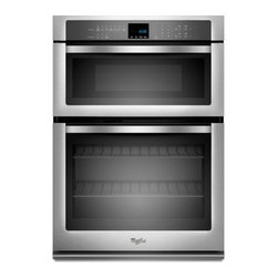 "Whirlpool - WOC54EC7AS 27"" Single Electric Wall Oven With 4.3 Cu. Ft. Self-Cleaning Oven  1. - The Whirlpool WOC54EC7A features an amazing 43 cu ft oven capacity and a 14 cu ft microwave oven capacity Ths Combination Microwave Wall Oven will make cooking a blast With SteamClean you wont have to worry about cleaning this over very often and it ..."