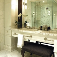 Contemporary Bathroom Countertops by Marble Trend