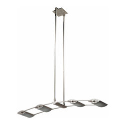 DVI LIghting - Dvi Lighting DVP1704SN Four Light Island Track - DVI Lighting DVP1704SN Four Light Island Track