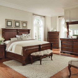 ART Furniture - Margaux 5 Piece Panel Bedroom Set - 166165-2630-SET - • French Flair
