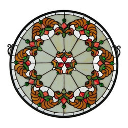 Meyda Tiffany - Meyda Tiffany Middleton Tiffany Stained Glass Window X-511721 - Meyda Tiffany Middleton Tiffany Stained Glass Window X-511721