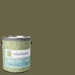 Inspired Eggshell Interior Paint, Glass .06, Gallon - Color house paints are zero VOC, low-odor, Green Wise Gold certified and have superior coverage and durability. Our artist-crafted colors are designed to be easy backdrops for living. Color house paints are 100% acrylic with no VOCs (volatile organic compounds), no toxic fumes/HAPs-free, no reproductive toxins, and no chemical solvents.
