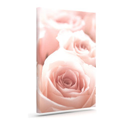 """Kess InHouse - Bree Madden """"Roses"""" Wrapped Art Canvas (20"""" x 16"""") - Bring your outdoor patio to life with this artistic outdoor canvas wrap featuring gorgeous artwork by KESS InHouse. These canvases are not only easy to hang and remove but also are the perfect addition to your patio collection. These canvases are stretched around a wooden frame and are built to withstand the elements and still look artistically fabulous. Decorating your patio and walls with these prints will add the splash of art and color that is needed to bring your patio collection together! With so many size options and artwork to choose from, there is no way to go wrong with these KESS Canvas Wraps!"""
