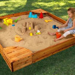 KidKraft - Backyard Sandbox - Backyard Sandbox