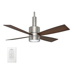 "Casablanca - Casablanca 59068 Bullet 54"" 4 Blade Ceiling Fan - Blades and Light Kit Included - Included Components:"