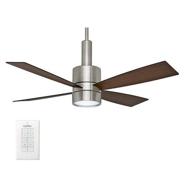 """Casablanca - Casablanca 59068 Bullet 54"""" 4 Blade Ceiling Fan - Blades and Light Kit Included - Included Components:"""
