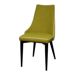 "New Pacific Direct - Abby KD Fabric Chair by NPD Furniture (Set of 2), Cactus - Dimensions: 20"" x 23.5"" x 36"" / 19.5"""