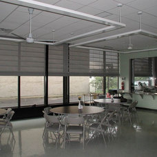 Contemporary Roller Shades by Solar Shading Systems