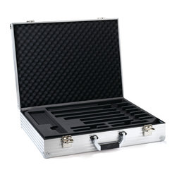 Wusthof - Wusthof Chef's Attache Case - The internal magnets hold the knives perfectly. This is the perfect case for someone who likes to buy different  sizes in knives. It also comes with 2 keys in case one is lost.