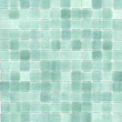 Elida Ceramica Recycled Mosaic Artic Green Glass Wall Tile - I love glass tile, and I can't think of a more spa-like experience than encasing your shower and tub in it. It's beautiful. Plus, this recycled version from Lowe's meets my criteria for staying green.
