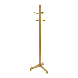 Winsome - Coat Tree with 6 pegs - Simple yet nice design coat rack offer your guests a place to hang their hat. Features 6 pegs for holding coats, scarves, hats and more.