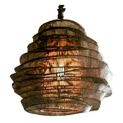 Bamboo Cloud Large Nimbus Chandelier by Roost -