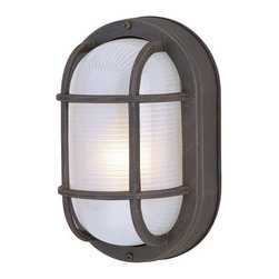 Craftmade - Craftmade Z396 Bulkheads 1 Light Wall Sconce or Ceiling Fixture - Craftmade 1 Light Outdoor Ceiling Fixture or Wall Light from the Bulkheads CollectionFeatures:
