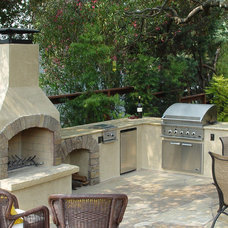 Artwork Outdoor Fireplace Kits