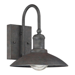 Savoy House - Savoy House 5-5030-1-32 Mica Wall Lantern - Savoy House?s Mica outdoor wall lanterns feature industrial lantern styling and a textured Artisan Rust finish for a touch of rustic inspiration.