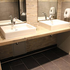 University Of Brunswick Fredericton Nb Canada Modern Vanity Tops And Side Splashes
