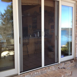 outswing and sliding glass doors these phantom retractable screens