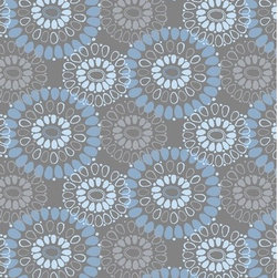 Malene b - Landscapes Navajo Gray Rug - Features: -Construction: Handmade. -Technique: Tufted. -Material: 100% New Zealand wool. -Origin: India. -Collection: Landscapes. -Embodies the elegance of silver and blue turquoise stone jewelry. -Circular shapes echo the blue stone's symbolism of good luck and happiness. -Suited to fit into any mid-century and classic modern interiors. -Returns not accepted. Care Instructions: Proper care and maintenance are critical to prolonging the lifetime of your carpet. A good cleaning program should consist of vacuuming and spot cleaning as well as professional cleaning. Should the carpet become soiled, using a certified professional carpet cleaner is recommended. Vacuuming is an essential part of carpet maintenance, and we recommend that you thoroughly vacuum your carpet at least once a week. We do not recommend the use of vacuums with beater bars, as they can raise the nap on some hand-tufted carpets and distress the yarns. Should you choose to use a beater bar function, however, we recommend the gentlest setting possible. New hand-tufted carpets may have excess fuzz accumulate on the surface. This fuzzing is perfectly normal and the result of the tufting and shearing processes. For this reason, vacuum your new carpet more often. Please Note: Each of the designs in this custom carpet collection are available in additional sizes and shapes upon request. Please contact All Modern for assistance with pricing for your special size or shape request.