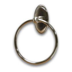Residential Essentials - Satin Nickel Addison Towel Ring(RE2486SN) - Satin Nickel Addison Towel Ring