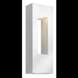 Hinkley - Hinkley Atlantis Two Light Bronze Outdoor Wall Light - 1649BZ-LED - This Two Light Outdoor Wall Light is part of the Atlantis Collection and has a Bronze Finish. It is Outdoor Capable.