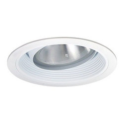 "Nora Lighting - Nora NT-5048 5"" Baffle with Regressed Eyeball and Ring, Nt-5048w - 5"" Baffle with Regressed Eyeball and Ring"