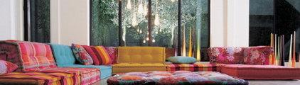 Mah Jong : The Shabby Shiek Sofa Sectional from Roche Bobois