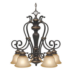 Jefferson 5-Light Nook Chandelier