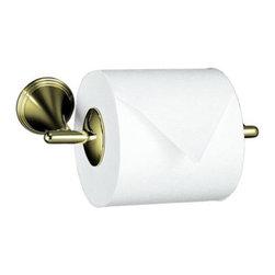 KOHLER - KOHLER K-361-AF Finial Traditional Toilet Tissue Holder - KOHLER K-361-AF Finial Traditional Toilet Tissue Holder in French Gold