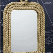 Know Your Ropes Wall Mirror by Two's Company - Free Shipping! | Organize.com