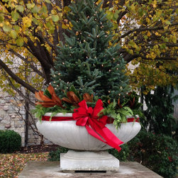 Winter Container Display - Mindy Habig