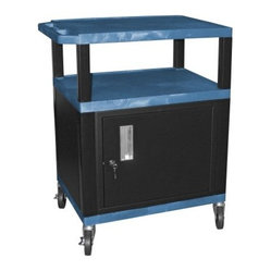Locking Cabinet - The Tuffy 34 in. Utility Cart with Locking Cabinet ...
