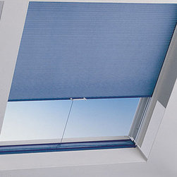Bali - Bali SkyTrack 3/8-inch Double Cell Midnight Blackout Skylights - Cover your skylight windows with Bali's Midnight blackout cellular shade material for maximum light control.