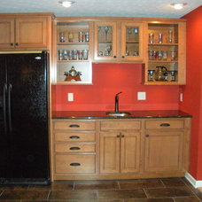 Traditional Basement by CMH Builders, Inc.