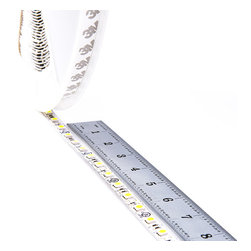 Full Reel LED High Power Flexible Light Strip - 31m (101ft) - NFLS series Non-Waterproof flexible LED Strip is now available in full length reels. High power 5050SMD LEDs. LED flexible light strips with adhesive backing, can be cut into 3-LED (5cm / 1.97in) segments. 12VDC operation. Full reel is 31 meters (101ft) length. Strip must run back to the power source every 10m (32ft) to avoid excessive voltage drop.