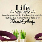 ColorfulHall Co., LTD - Wall Mural Life Is Measured By The Moments That Take Our Breath Away - Wall Mural Life Is Measured By The Moments That Take Our Breath Away