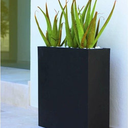 Wall Outdoor Planter - The Wall outdoor planter is available in a variety of matte or lacquer colors.