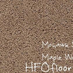Mohawk Carpet Splurge - Mohawk Splurge, Maple Wood 12' Smartstrand Trixeta BCF carpet. Available at HFOfloors.com.